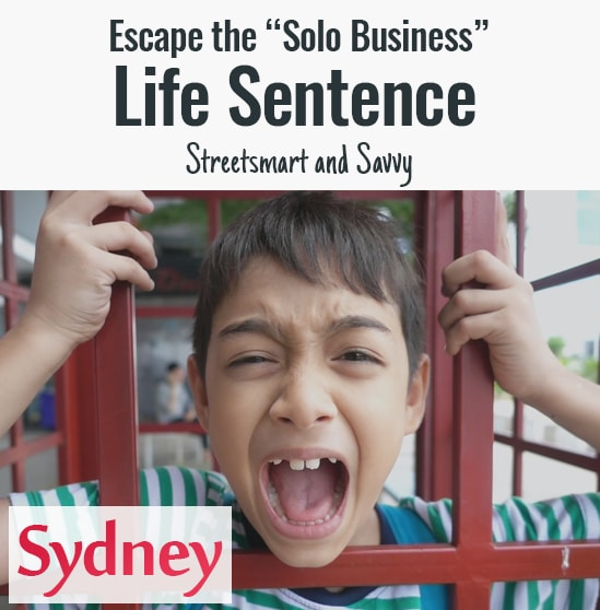 "Escape The ""Solo Business"" Life Sentence Aug 4-5"