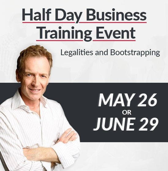 Half Day Business Training Event Courses - Aug And June 29