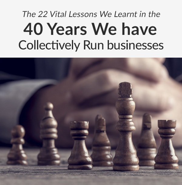 The 22 Vital Lessons - Events