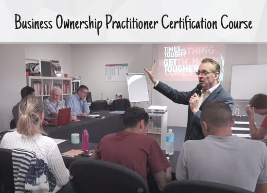 Business Ownership Practitioner Certification Course For SME Course