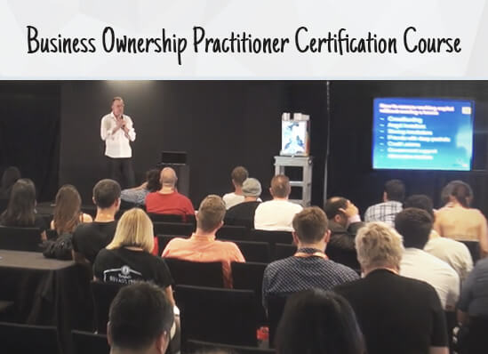 Business Ownership Practitioner Certification Course In Course