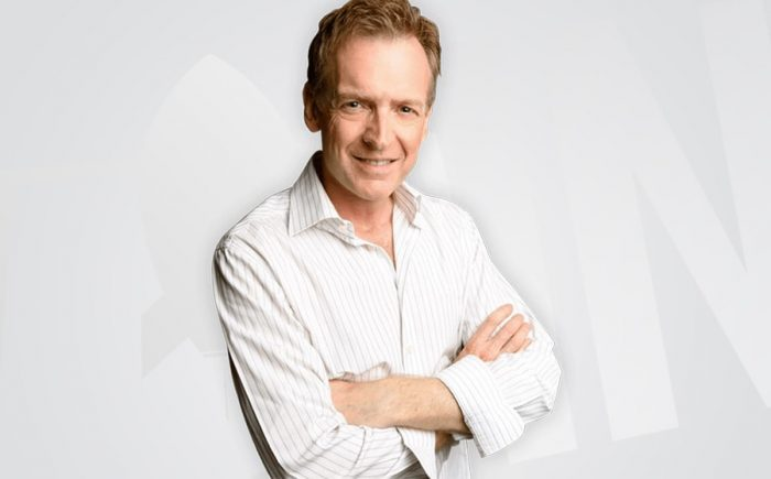 Rick Chisholm image - gray background and logo