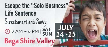 Escape the Solo Business Life Sentence Bega Valley