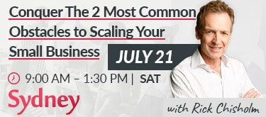 Conquer The 2 most common obstacles to Scaling Your Small Business