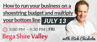Half Day Business Training Event in Bega Valley